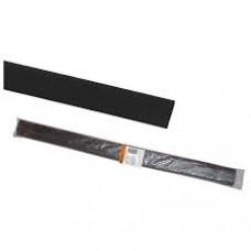 Термоусаживаемая трубка ТУТнг 10/5 черная по 1м (50 м/упак)