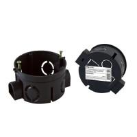 Установочная коробка СП D68 х40мм, саморезы , стыковочные узлы, IP20, TDM*